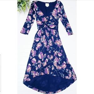🎉Anthro Maeve Floral Quarter Sleeve Dress🎉